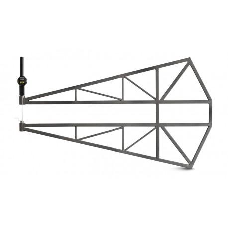 Wide range thickness gauge