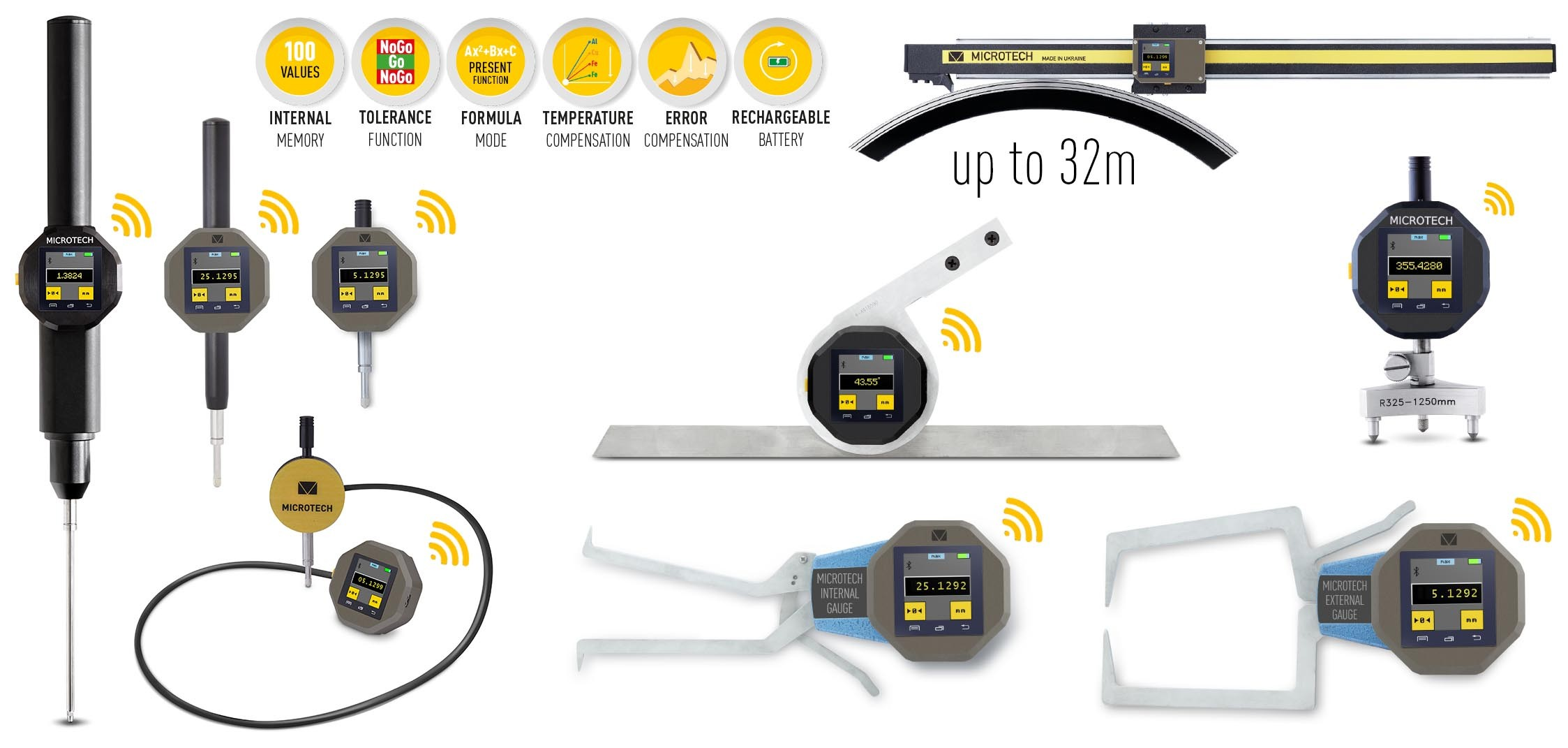 WIDE RANGE DIGITAL MICROMETER