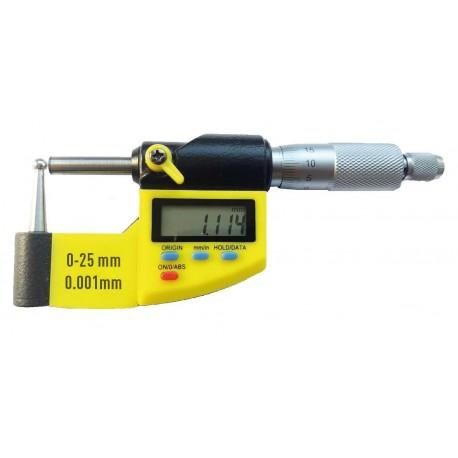 TUBE digital micrometer IP54