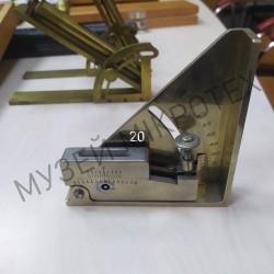 Ampule goniometer, metal, circa 1900
