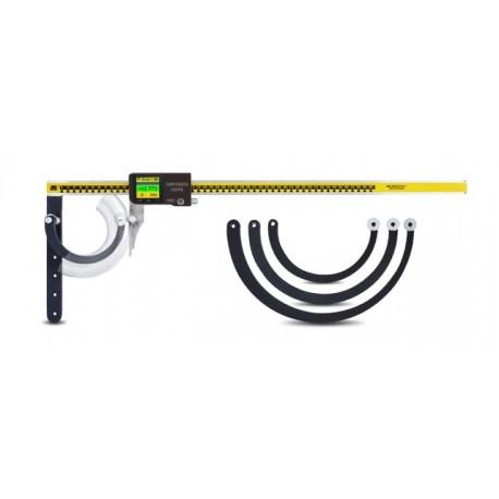 Толщиномер для измерения стенок криволинейных труб