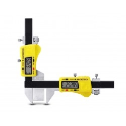 Gear tooth digital caliper