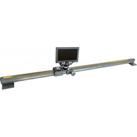 Цифрова шкала з мікроскопом