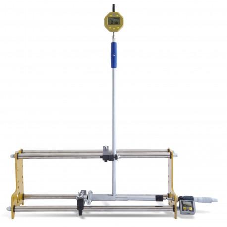 Sub-micron universal calibration stand (indicator, bore gauge)