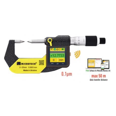 INTELLIGENT SUB-MICRON SMALL TIP micrometer IP-65